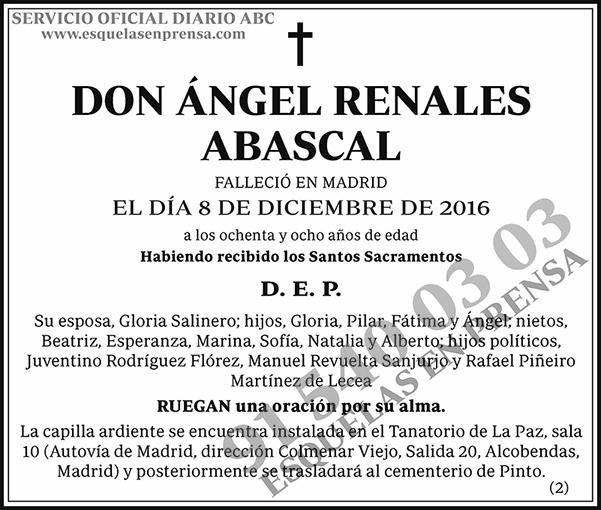 Ángel Renales Abascal
